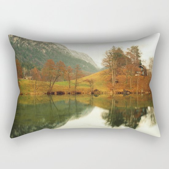 Castle of Tranquility Rectangular Pillow