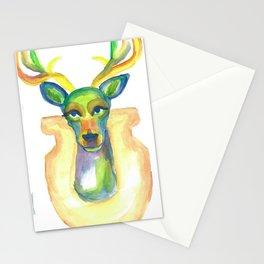 Rainbow Deer Stationery Cards