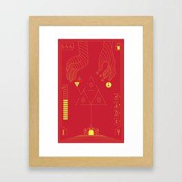 Future Game Framed Art Print