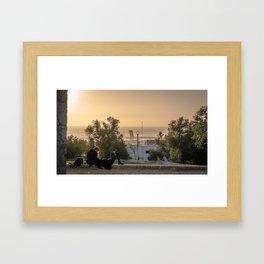 Crépuscule Framed Art Print
