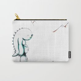 Sad Monster Carry-All Pouch