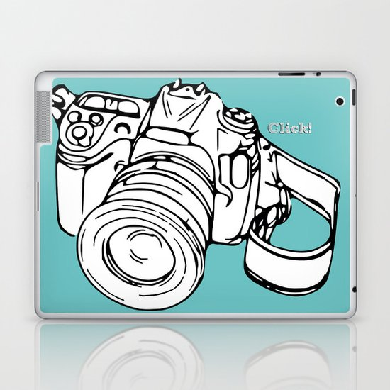 Click! Laptop & iPad Skin