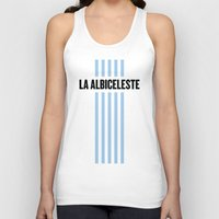 argentina Tank Tops featuring Argentina by Skiller Moves
