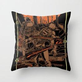 SAMURAI 3 Throw Pillow