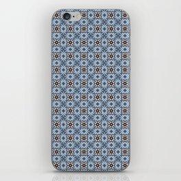Blue Tiles iPhone Skin