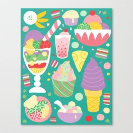 Sweets of Southeast Asia Canvas Print