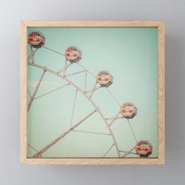 Big Wheel Framed Mini Art Print