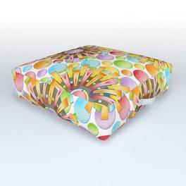Birthday Party Polka Dots Outdoor Floor Cushion