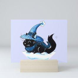 Snowy in Salem Mini Art Print
