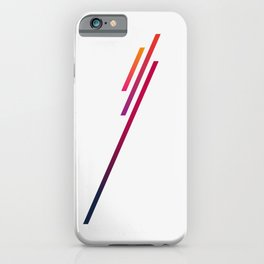 Blazing In The Sky iPhone Case