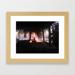 KP Sunset #3 Framed Art Print