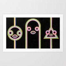Quantum Teleportation Art Print