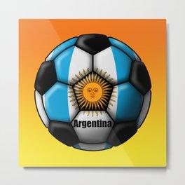 Argentina Ball Metal Print