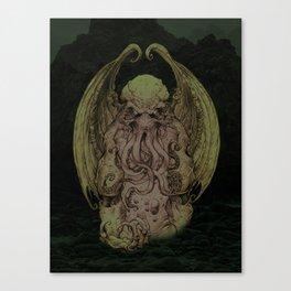 Cthulhu : Cosmic God Of Horror Canvas Print