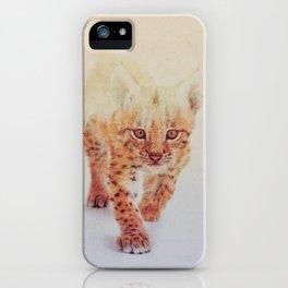 Little Ones: Lynx iPhone Case