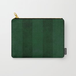 Emerald Stripes Carry-All Pouch