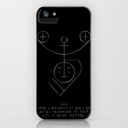 Moon Stave iPhone Case