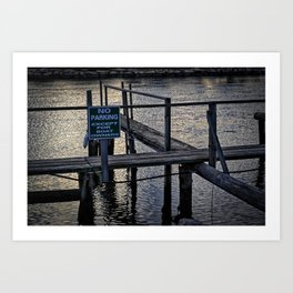 Boats Only Art Print