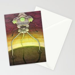 War of the Worlds-Arrival of the Tripods Stationery Cards