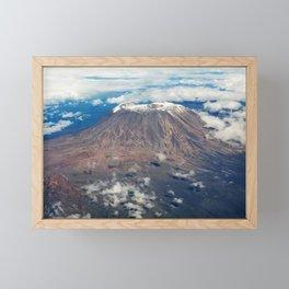 Mount Kilimanjaro, Tanzania Framed Mini Art Print