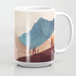 Abstract Mountainscape  Coffee Mug