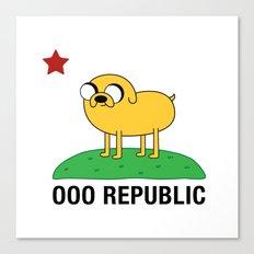 Ooo Republic Canvas Print