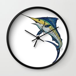 Stylefish Marlin Wall Clock