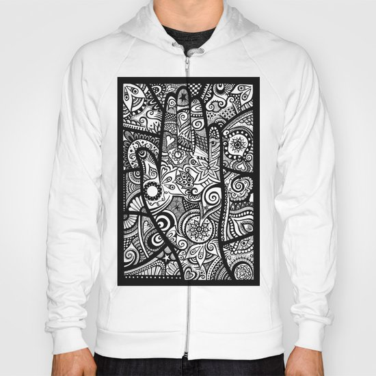 The hand of righteousness Hoody