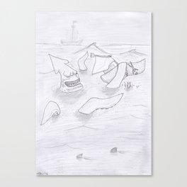The Kraken Canvas Print