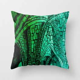 Cathedral. Throw Pillow