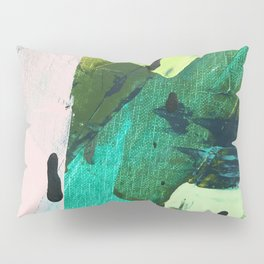 Hopeful[4] - a bright mixed media abstract piece Pillow Sham