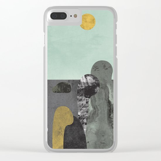 Something about those rocks Clear iPhone Case