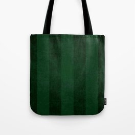 Emerald Stripes Tote Bag