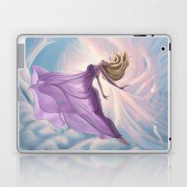 Lemurian Goddess of Air Laptop & iPad Skin
