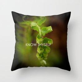 Know Thyself Throw Pillow