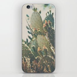 desert prickly pear cactus ... iPhone Skin