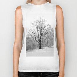 Maple Tree in Winter Biker Tank