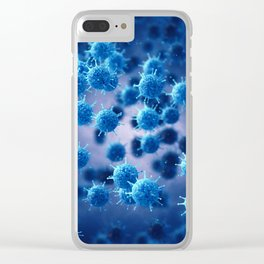 Viral disease Clear iPhone Case