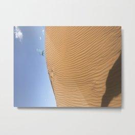 desert chair Metal Print