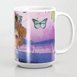 Picnic Bay Jetty Watercolour Coffee Mug