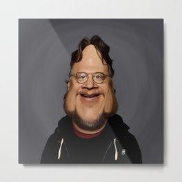 Guillermo Del Toro Metal Print