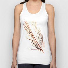 Peacock Feather 1 Unisex Tank Top