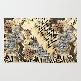 African pattern. Rug