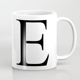 E letter Coffee Mug