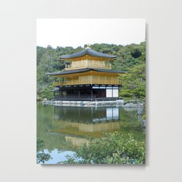 Kinkakuji 1 Metal Print