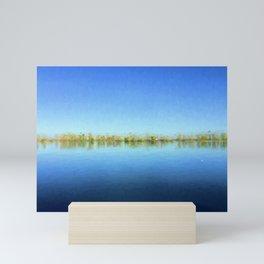 The Blue Danube Mini Art Print