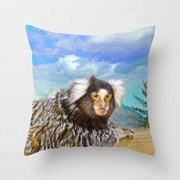 Missis Elsie Throw Pillow