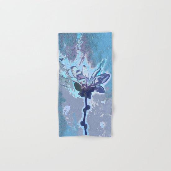 Blue flower fantasy Hand & Bath Towel
