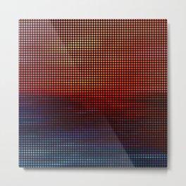Sunset by Lars Furtwaengler | Digital Interpretation | 2013 Metal Print