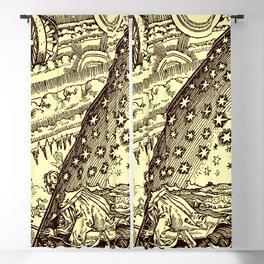 "Flammarion Woodcut (1888) ""Cosmic design"" (3) Blackout Curtain"